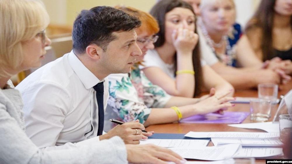 Nga, báo hiệu nhượng bộ, tân Tổng thống Ukraina Zelensky
