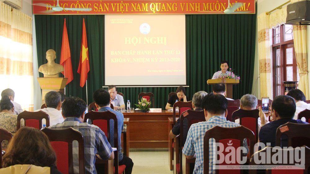 Ban Chấp hành Liên minh HTX tỉnh Bắc Giang, Liên minh hợp tác xã, Phát triển kinh tế tập thể