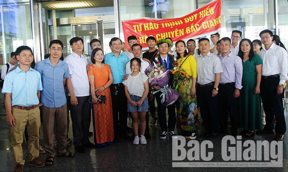 Bắc Giang, Trường THPT Chuyên Bắc Giang, Trịnh Duy Hiếu, Vật lý, Bắc Giang, Nguyễn Văn Đóa, Chuyên Bắc Giang