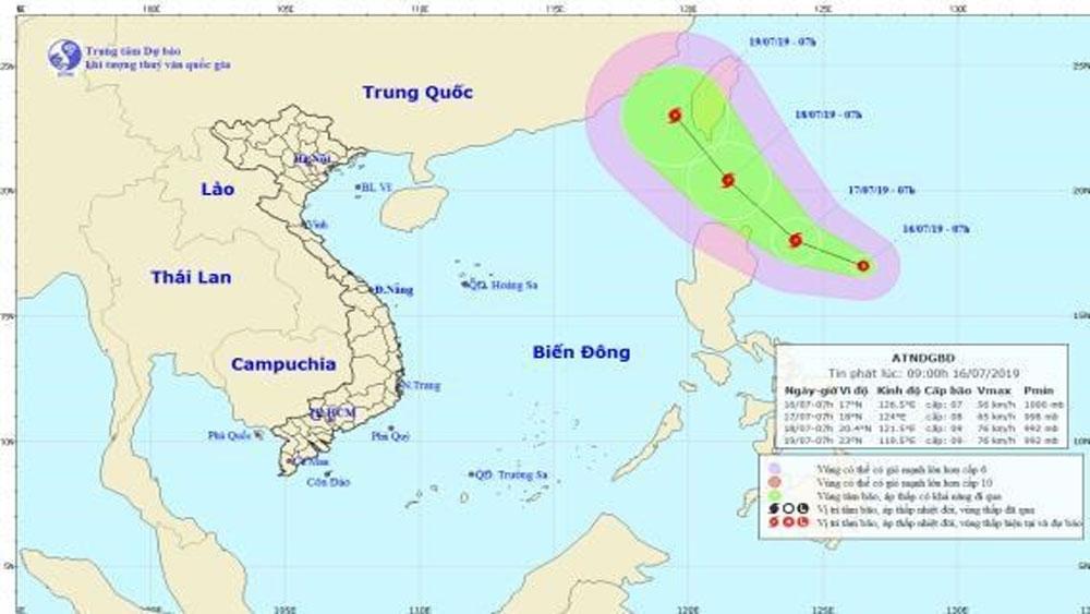 Xuất hiện, áp thấp nhiệt đới, gần biển Đông, khả năng mạnh thành bão