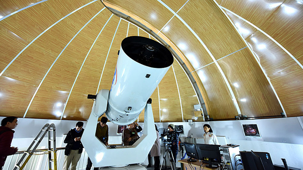 Hanoi observatory opens for lunar eclipse viewers