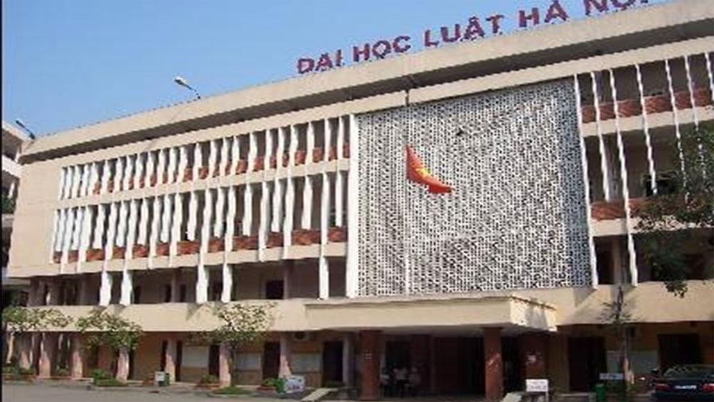 Trường Đại học Luật Hà Nội, công bố, điểm sàn xét tuyển