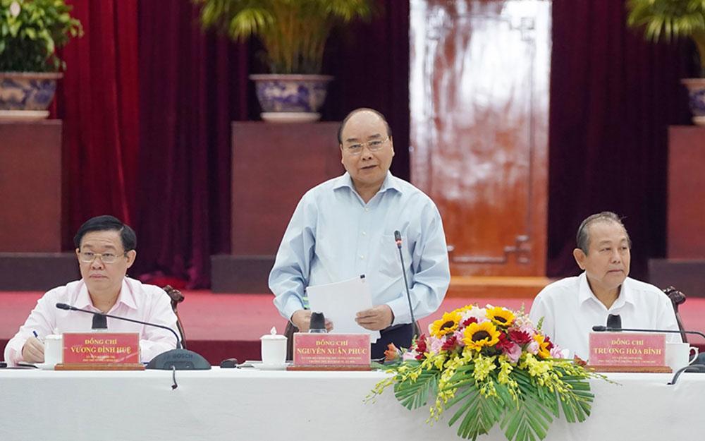 Thủ tướng, làm việc với các địa phương ĐBSCL, chuẩn bị cho ĐH XIII