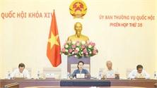 Phiên họp thứ 35 Ủy ban Thường vụ Quốc hội: Thành lập hai phường thuộc tỉnh Nam Định và một thị trấn thuộc tỉnh Kon Tum