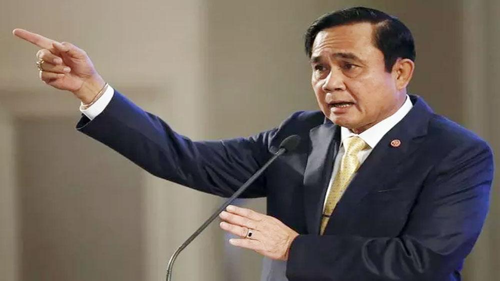 Thái Lan, nội các mới, tuyên thệ nhậm chức