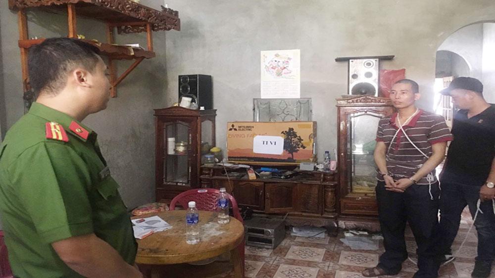 thực nghiệm hiện trường, đối tượng Lường Văn Lả, vụ sát hại nữ sinh giao gà tại Điện Biên