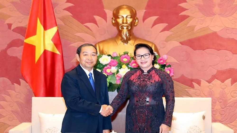 Vietnam, Laos, training courses, judges and court officials,  judicial reform strategy,  significant outcomes, bilateral cooperation agreement, top legislator