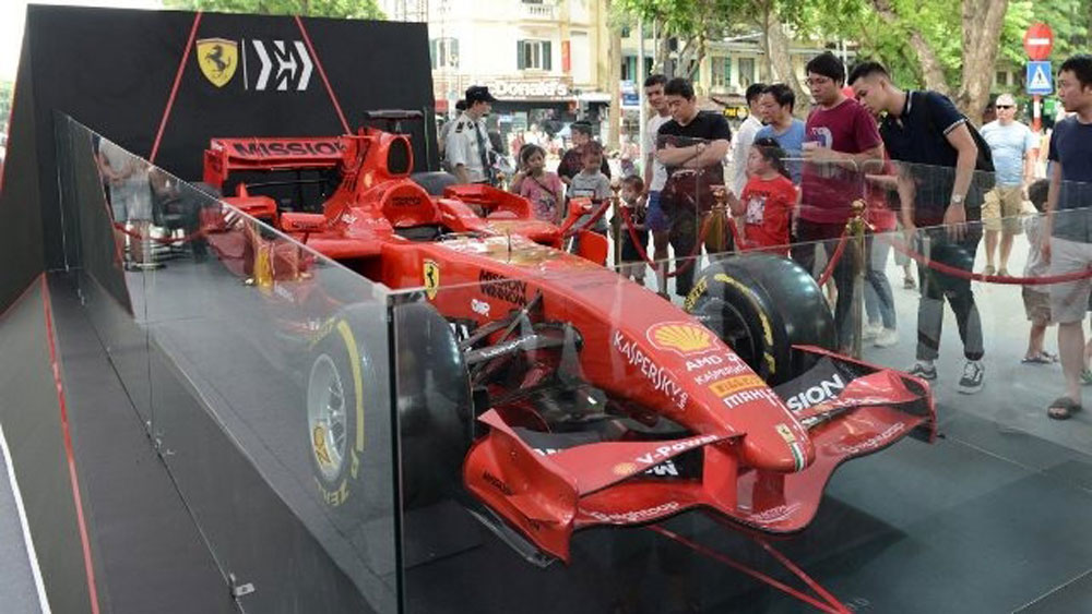 Tickets, F1 Vietnam Grand Prix, racing organisers, single day tickets, e-commerce, ticket distribution agents