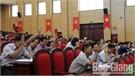 HĐND huyện Lạng Giang biểu quyết thông qua 7 nghị quyết