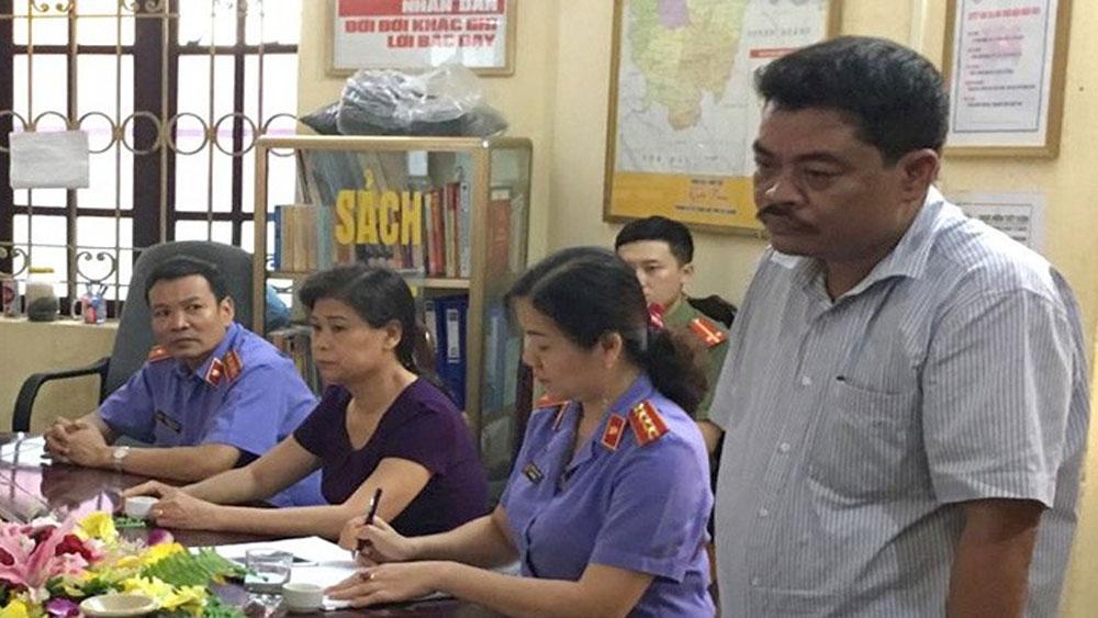 Ðiều tra bổ sung, vụ gian lận điểm thi tại Hà Giang, Nguyễn Thanh Hoài , Vũ Trọng Lương
