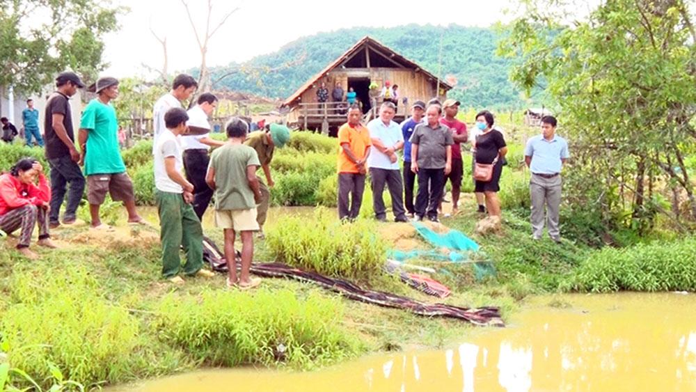 Bốn đứa trẻ, tử vong dưới ao nước ở Khánh Hòa, đuối nước ở xã Khánh Hiệp