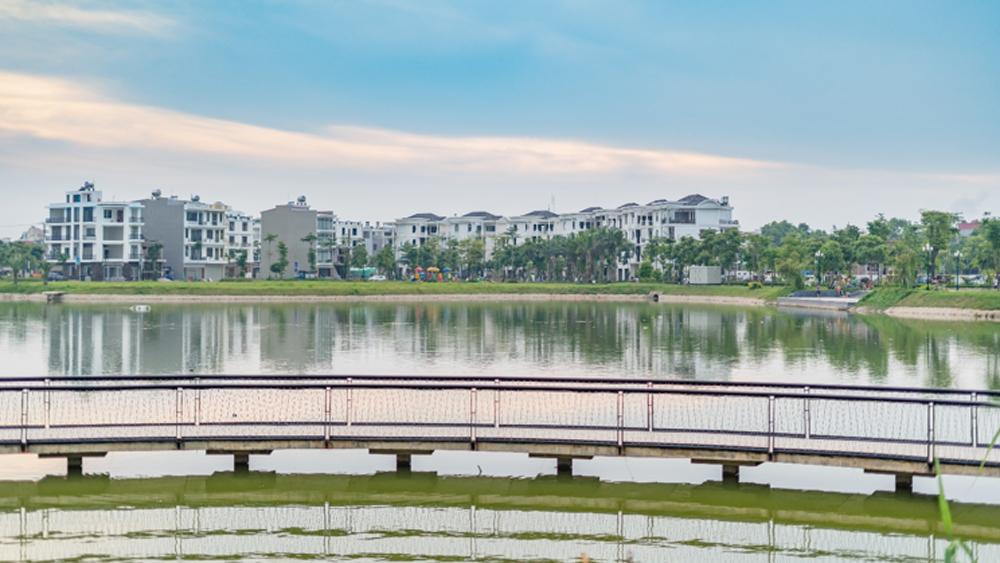 Bùng nổ, đầu tư đất nền, Bắc Giang, Khu đô thị Bách Việt
