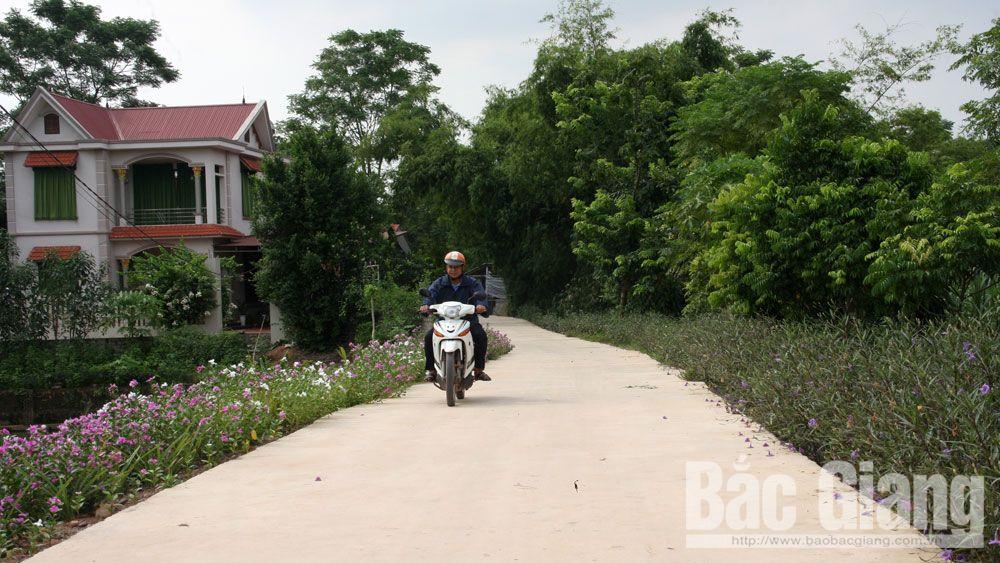 nông thôn mới, y ban Mặt trận Tổ quốc (MTTQ) huyện Lạng Giang, Bắc Giang,