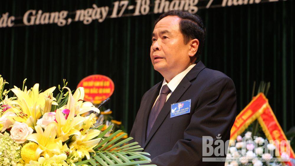 ông Trần Thanh Mẫn, Ủy ban MTTQ Việt Nam, toàn văn, bài phát biểu Đại hội MTTQ