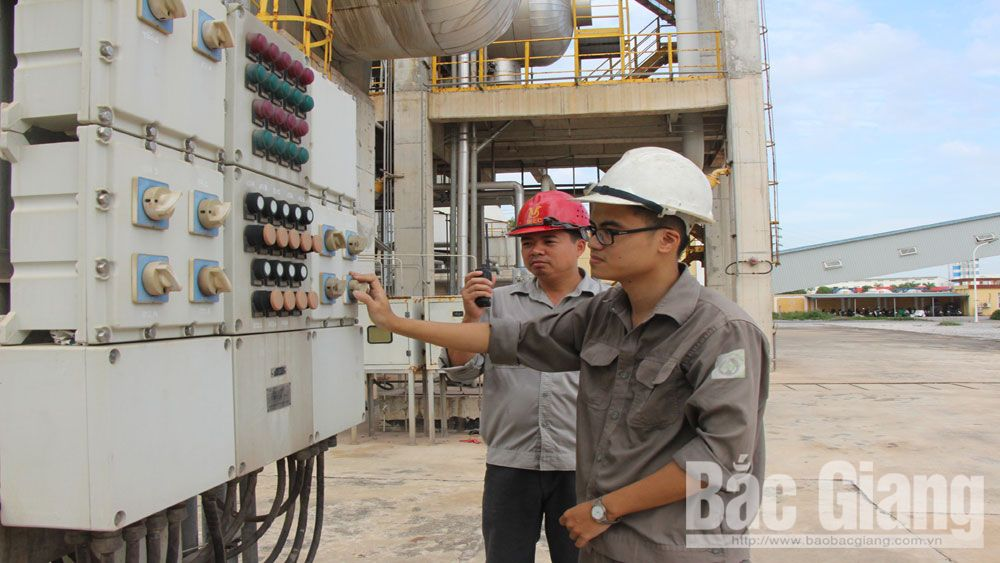 Bac Giang enterprises use power economically to increase profit and reduce pressure on electric sector
