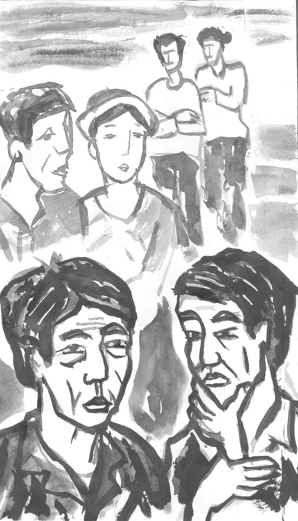 Truyện ngắn, văn học, Bắc Giang, bìm bìn  nở muộn, hạnh phúc giản dị, quả ngọt của thầy, Mẹ kế, vàng, Bắc Giang