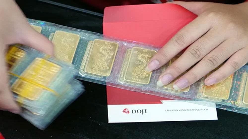 Vàng miếng SJC, chạm mốc 40 triệu đồng, Tập đoàn DOJI