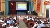 Lục Nam tập huấn phòng chống thiên tai - tìm kiếm cứu nạn