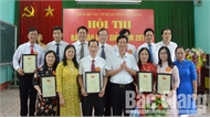 Hội thi báo cáo viên giỏi Đảng bộ Các cơ quan tỉnh Bắc Giang: Đồng chí Trần Văn Hà giành giải Nhất