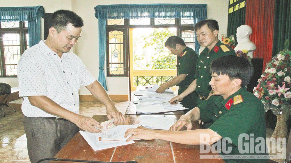 người có công, đền ơn đáp nghĩa, Bắc Giang, thương binh, bệnh binh, liệt sĩ, dân công hỏa tuyến