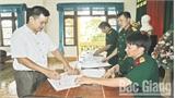 Bắc Giang thực hiện chế độ chính sách cho dân công hỏa tuyến: Bảo đảm công khai, đúng đối tượng