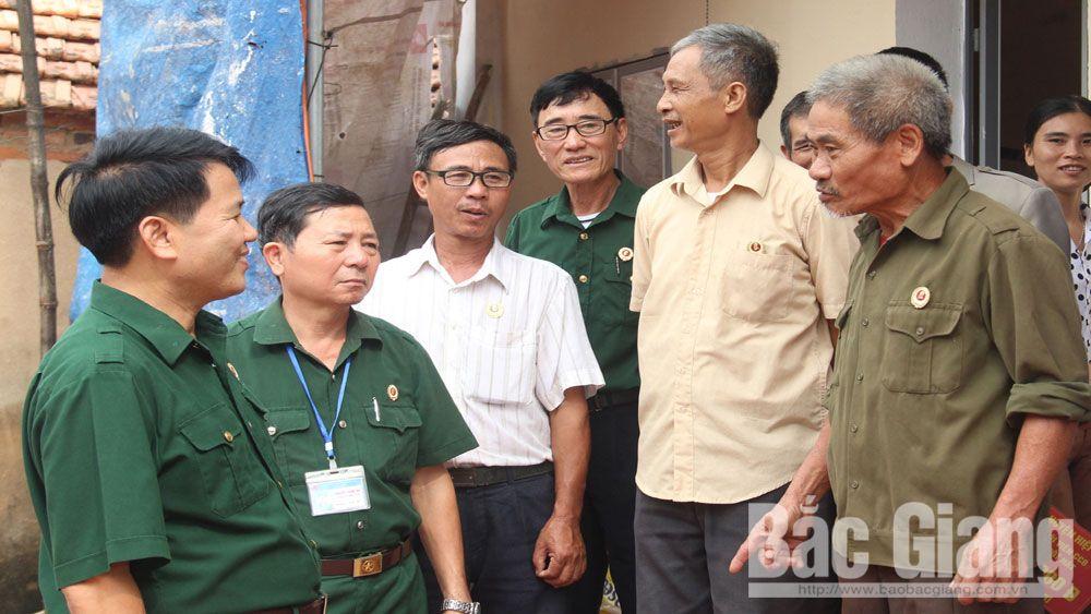 Hội cựu chiến binh Hiệp Hòa, cựu chiến binh, Bắc Giang