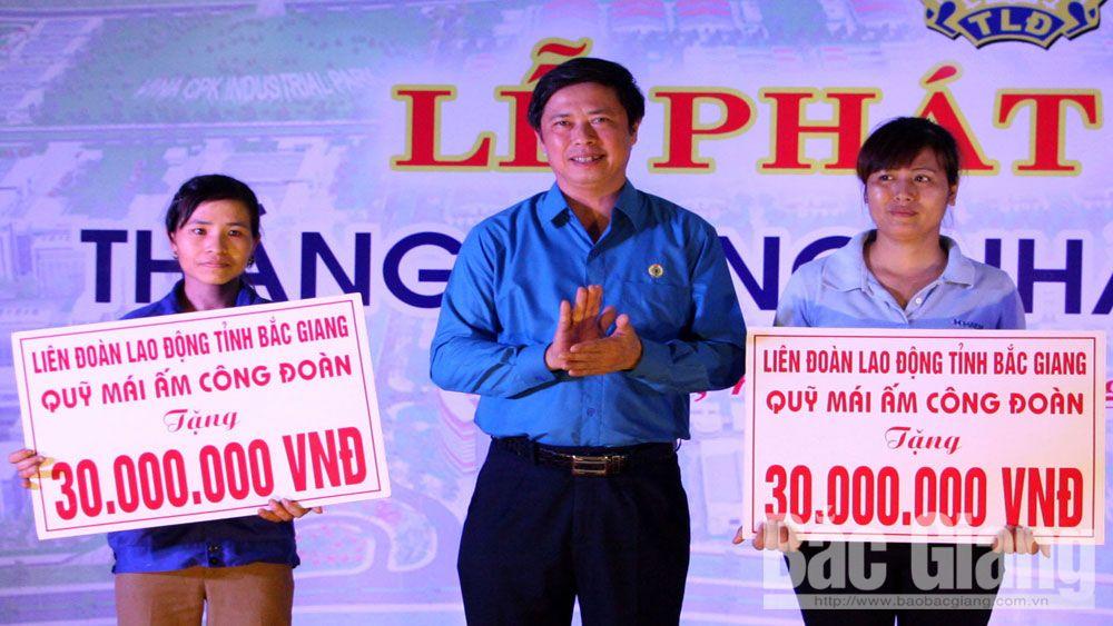 công đoàn, người lao động, Bắc Giang, doanh nghiệp