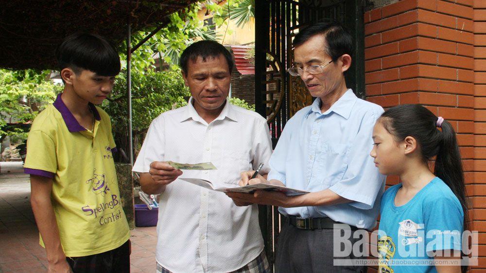 khuyến học, khuyến tài, quỹ khuyến học, Bắc Giang