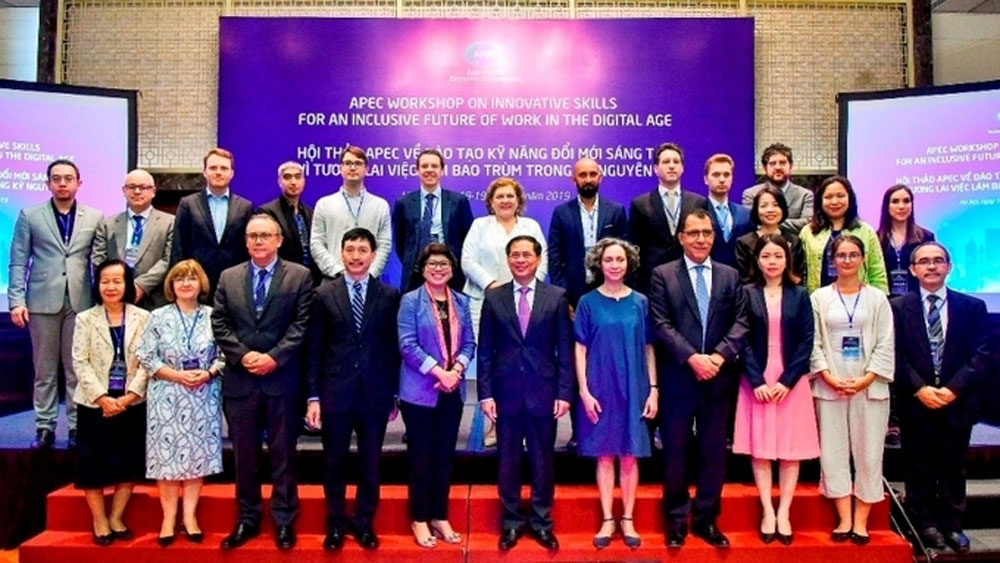 APEC workshop, innovative skills training, inclusive future,  digital age,  domestic and foreign speakers, digital economy, finance and digital society, sustainable growth