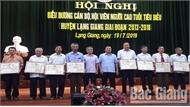 Lạng Giang biểu dương 57 cán bộ, hội viên người cao tuổi tiêu biểu