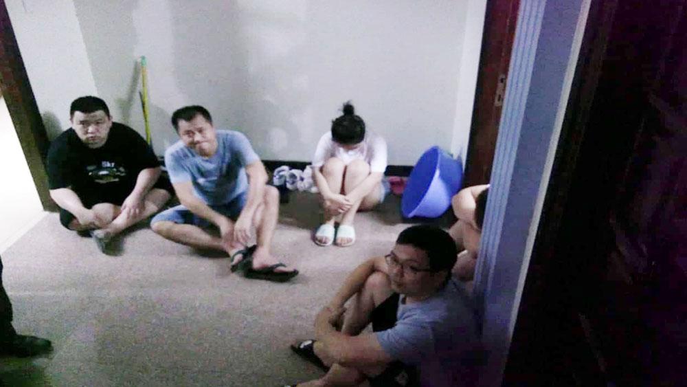 Quảng Ninh, tạm giữ, 5 người nước ngoài, kích sóng di động trái phép, Công ty Xuất nhập khẩu Thành Đạt