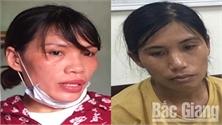 """Vờ đi mua nông sản tại Bắc Giang, hai """"nữ quái"""" Hà Nội gây ra hàng chục vụ trộm cắp tài sản"""