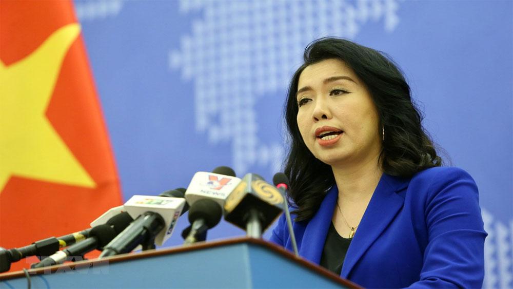 Việt Nam, yêu cầu Trung Quốc, chấm dứt, các hành vi vi phạm trên vùng biển của Việt Nam