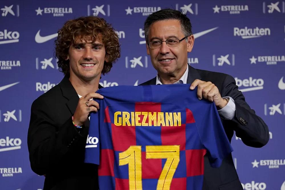 Atletico, Barca, Griezmann, La Liga, chuyển nhượng