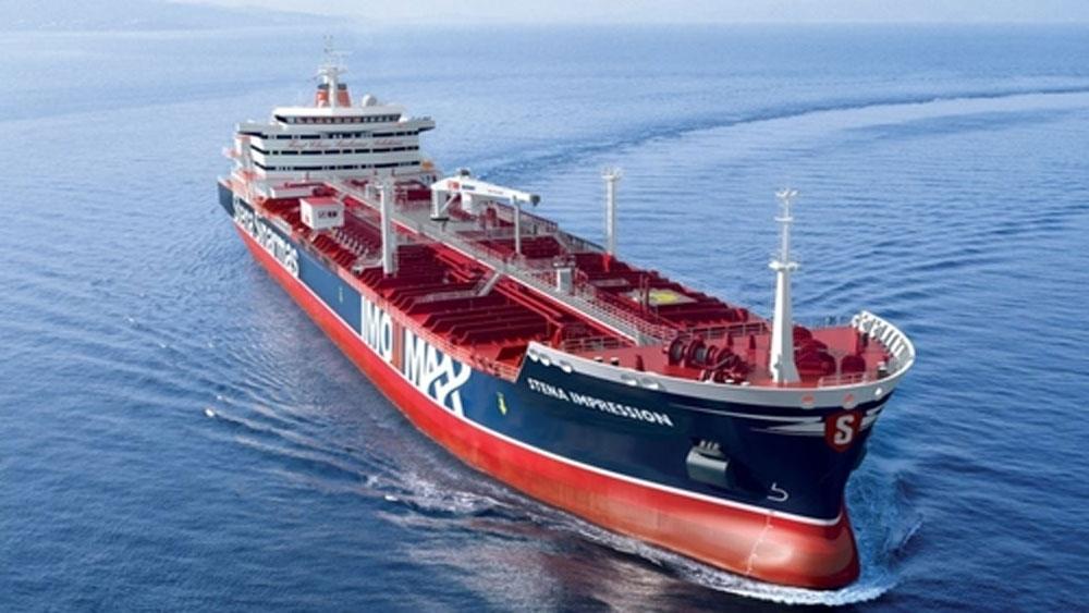 Iran, khẳng định, tàu của Anh, va chạm với một tàu đánh cá, bị bắt, Eo biển Hormuz