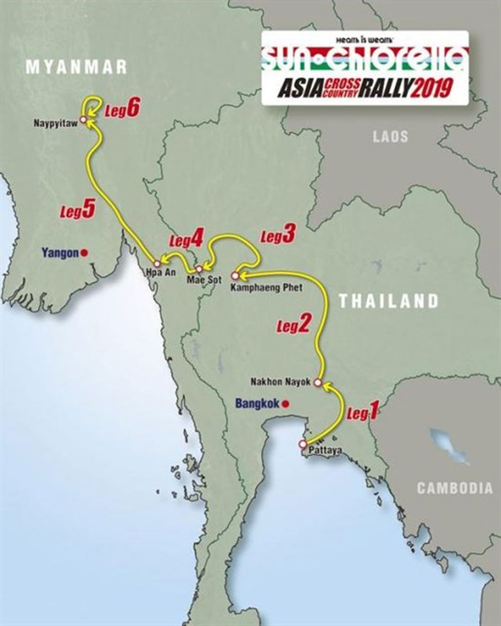 Asia Cross Country Rally, Vietnam, suitable terrain, great supporters, international-level sports, Racing AKA