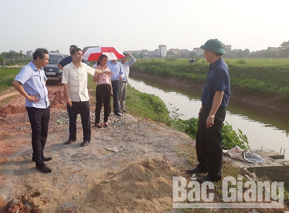 phòng chống dịch tả lợn châu phi, Cần giải quyết dứt điểm tình trạng vứt xác lợn, rác thải trên Kênh trôi, đoạn qua xã Hoàng An (Hiệp Hòa)
