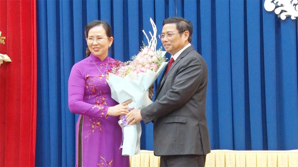 Hà Nam, tân Bí thư Tỉnh ủy, đồng chí Lê Thị Thủy