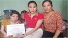 Hội đồng hương Lục Nam tại Đài Loan tặng quà 6 gia đình khó khăn