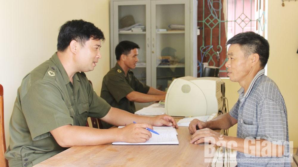 Hiệp Hòa, Bắc Giang, diễn đàn, công an xã,  kiến nghị của dân, an ninh trật tự