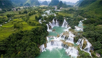 Non Nuoc Cao Bang a 'magnificent' global geopark