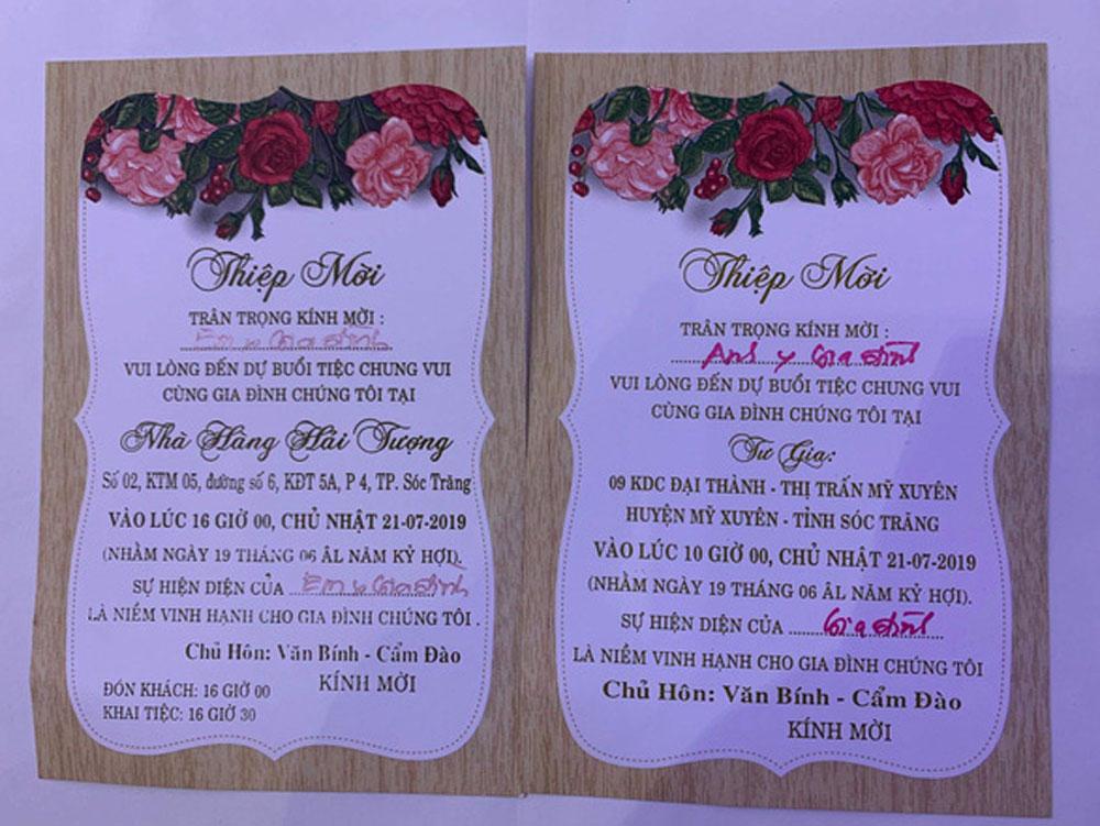 Đám cưới, con Trưởng đoàn ĐBQH Sóc Trăng, tổ chức 3 ngày, 4 tiệc, Hồ Thị Cẩm Đào,