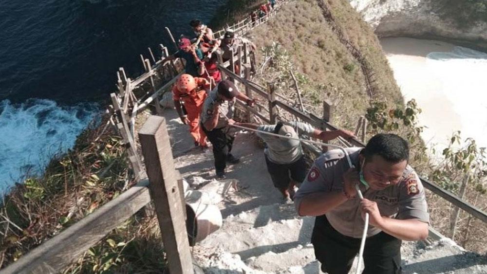Một du khách Việt Nam, thiệt mạng, bị sóng lớn cuốn trôi ở đảo Bali, bãi biển Klingking, đảo Bali, Nguyễn Hoàng Hiếu Dân