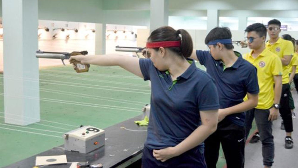 2019 national shooting tourney, Vietnam Shooting Federation, annual shooting event,  excellent shooters