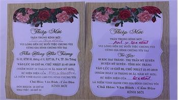 Phân trần của Trưởng đoàn Đại biểu Quốc hội Sóc Trăng làm đám cưới con 3 ngày, 4 tiệc