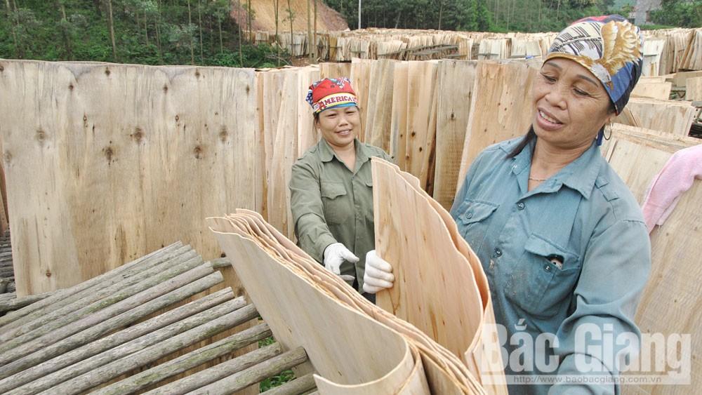 Bắc Giang,  doanh nghiệp ngành gỗ, sản phẩm Trung Quốc, xuất xứ hàng Việt, thương mại, xuất khẩu, thương hiệu