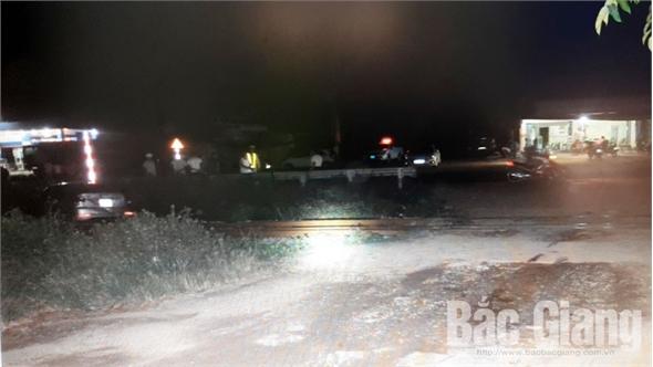 Liên tiếp xảy ra 2 vụ tai nạn giao thông đường sắt ở Bắc Giang, 4 người thương vong