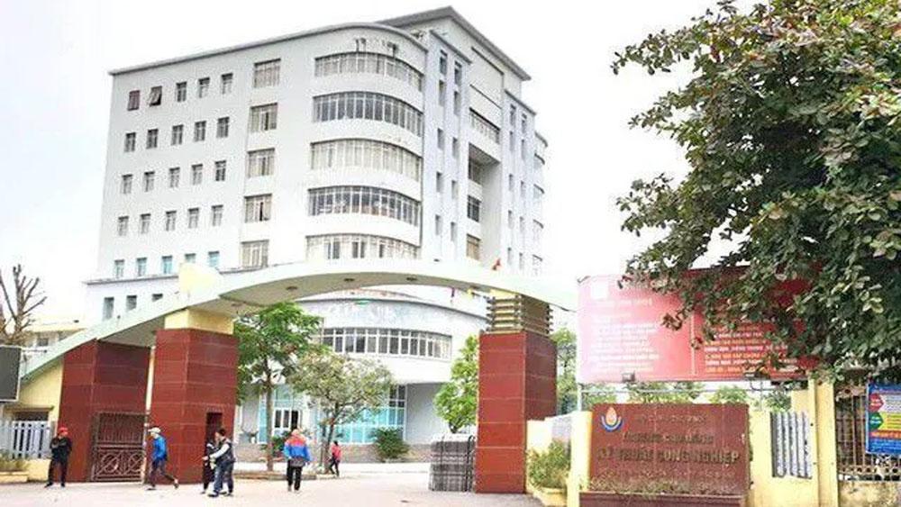 Bộ Công thương, kết luận về sai phạm, Trường Cao đẳng kỹ thuật công nghiệp, ông Đặng Thanh Thuỷ