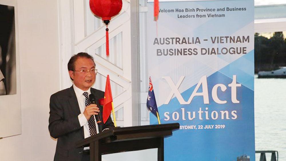 Best time, Australian investors, Vietnam, Southeast Asian economy, business dialogue, strategic partnership agreement, Vietnamese-funded projects