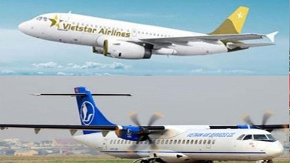 hãng hàng không mới, được cấp phép, Công ty Cổ phần Hàng không lưỡng dụng Ngôi sao Việt, Vietstar Airlines